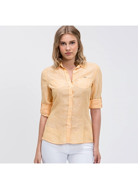 Lacoste Gömlek Sarı